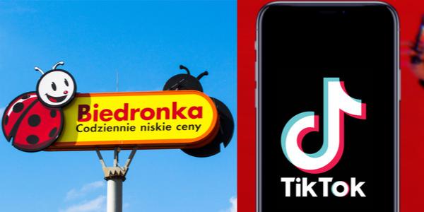 """Biedronka w kampanii """"Back to school"""" na TikToku"""